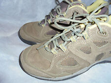 HITEC ORTHOLITE WOMEN'S SAND SUEDE LEATHER LACE UP BOOT SIZE UK 6 EU 39 VGC