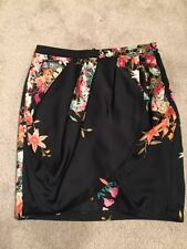 Zara Silk Short/Mini Skirts for Women
