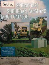Sears 1976 Suburban Farm Garden Tractor FULL COLOR Sales Brochure Catalog 184pg