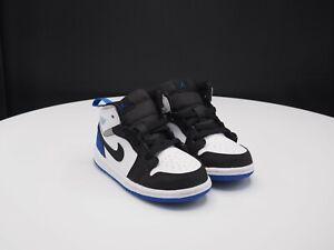 """Nike Air Jordan 1 Mid SE """"Hyper Royal"""" BQ6933-102 Toddler size 8C"""