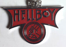 "Hellboy Movie Red Logo 2"" Necklace w/Silver Chain- Mailed from Usa"