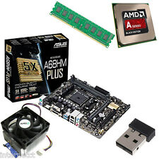UPGRADE BUNDLE KIT - A10 7700K 4GB ASUS A68HM-PLUS MOTHERBOARD AND WIFI DONGLE