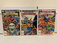 Super Hero Contest of Champions #1 2 3 FN+/VF- Marvel Comics 1982 HUGE AUCTIONS!
