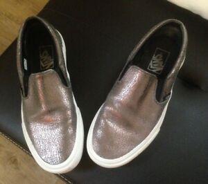 VANS bequeme Slip on Sneaker Halbschuhe Gr.39 auch für breitere Füße
