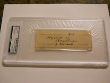 JUDGE ROY BEAN SIGNED CUT SIGNATURE DATED 1889 PSA/DNA AUTOGRAPH OLD WEST SALOON