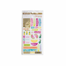 Michaels Creative Year Stickers By Recollections  - Tropical Summer Note Tab