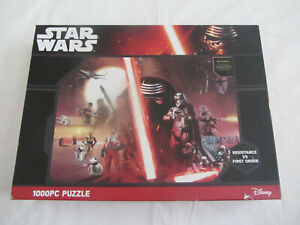 Holdson Star Wars 1000 Piece Puzzle 'Resistance vs First Order'