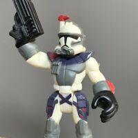 Ultra Rare Star Wars Galactic Heroes Trooper Action Figure