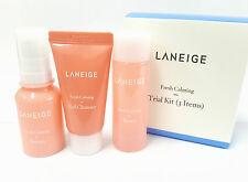 *Laneige* Fresh Calming Trial KIT (3ITEMS) 25ml/10ml/15ml - Korea Cosmetic