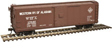 Western Railway Of Alabama Usra Steel Rebuilt Box Car - Atlas Model Rr -Ho-Scale