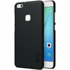 Genuine originale Nillkin SATINATA SCUDO NERO Hard Case Cover Huawei P10 Lite