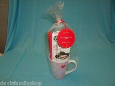 Starbucks 2014 Valentine's Day Gift Set Coffee Cup Mug  14 oz ounce ounces