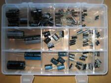 Sortiment Elkos, radial, 109 Stück, 1uF bis 4700uF in Sortierbox