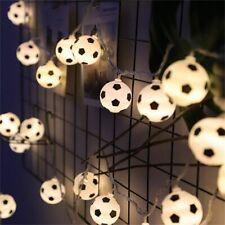 Christmas String Lights LED Ball Soccer Boy's Bedroom Decoration Battery USB New