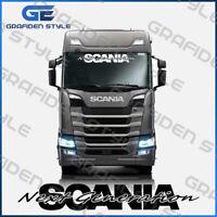 SCANIA NEXT GENERATION - LKW Frontscheibe Aufkleber - Sticker - L 110cm !