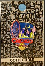 HRC Hard Rock Cafe Chicago Core Greetings From Series Pin LE NEW # 95520