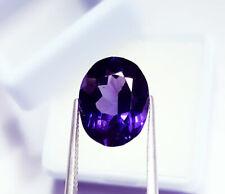 Loose Gemstone Natural Tanzanite 11.12 Ct Certified Oval Shape