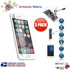3 Pack for iPhone 8 7 6 XR X XS Max 11 Pro Max Screen Protector Tempered GLASS