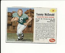 1962 POST CEREAL HAND CUT #38 TOMMY MCDONALD