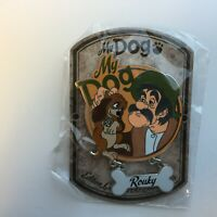 DLP Paris - My Dog - Rouky and Amos - Limited Edition 700 Disney Pin 119139