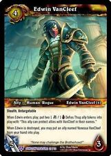 Edwin VanCleef Epic Foil Card World of Warcraft WoW Tcg Dungeon Treasure Pack