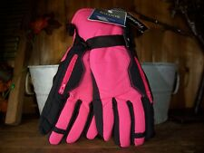New listing Igloo Ladies Ski Gloves Size Lg Xl Color Pink Insulated Zippered Pocket Winter