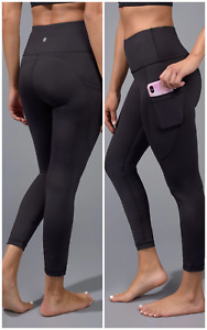 90 DEGREE BY REFLEX  Interlink High Waist 7/8 Ankle Legging With Back yoke