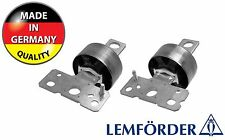 2 x VOLVO S60 S80 V60 V70 Rear Trailing Arm Lower Suspension Bush LEMFORDER