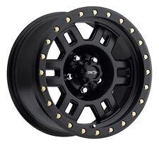 "18"" Vision 398 Manx Black Wheel 18x9 5x5.5 18mm Dodge Ram 1500 Dakota 5 Lug Rim"