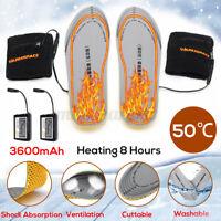 Elektrisch Beheizbare Einlegesohlen Beheizte Schuheinlagen Winter Heizsohlen USB
