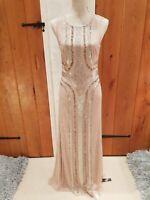 jenny packham diamond dress bnwt rrp £280 sizes 8 10 12 14 16   no offers