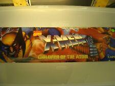 X-Men Children of the Atom Video Arcade Game Marquee, Atlanta #193