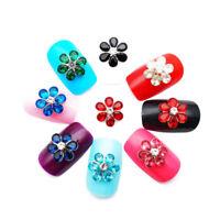Nail Rhinestone Single Flower Drill 3D Nail Art Decorations  DIY Tools