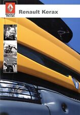 Renault Kerax Prospekt 2004 7/04 Nutzfahrzeugprospekt  türkisch brochure turkish