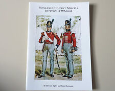 English Infantry Militia Tunic Buttons 1757-1881 Reference Guide Book Badges