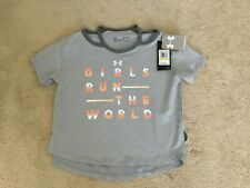 GIRL'S UNDER ARMOUR OPEN SHOULDER SHIRT SIZE L NWT! $20.00