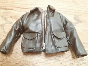 """1/6 scale RELIC HUNTER Indiana Jones's leather jacket outfit for 12"""" figure"""
