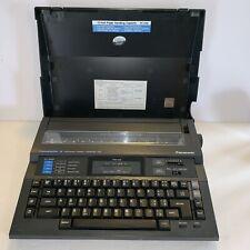 Vintage Panasonic Thermalwriter Typewriter Rk H500 Works See Pics