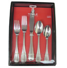 Towle Beaded Antique 18/10 Stainless Steel 45pc Flatware Set (Service for Eight)