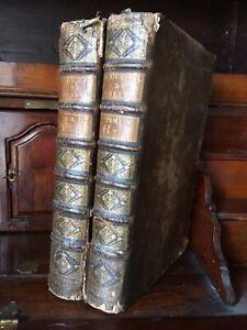 MORERI NOUVEAU SUPPLEMENT AU DICTIONNAIRE HISTORIQUE 1749 Complet