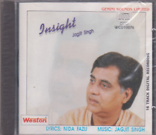 Insight By jagjit singh   [Cd]  Weston released / UK made Cd