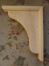"Corbels Solid Wood Bar /Shelf Supports/Brackets/ 9"" x 11 1/2"""