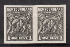Newfoundland #184P VF Proof Pair In Black