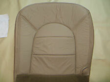 97 -00  Ford  F 250- 350 Lariat Super duty Driver  Bottom Leather seat cover TAN