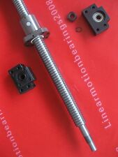 1 anti backlash ballscrew RM2510-1125mm-C7+1set BK/BF15 CNC