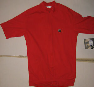 Pearl Izumi Size Small Escape Classic Short Sleeve Cycling Bike Jersey Red
