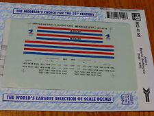 Microscale Decal HO  #MC-4155 Amtrak Material Handling Car - Phase III Dates:198