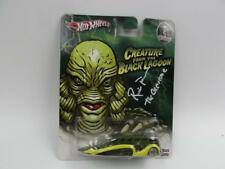 Univeral Monsters Hot Wheels car MOC The Creature signed by Ricou Brown LOW FLOW