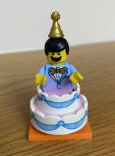 New LEGO Mini figures Series 18 Birthday Party Cake Guy minifigure