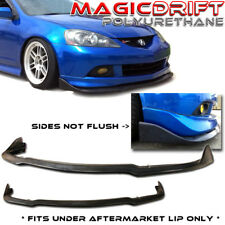 02 03 04 05 06 Acura RSX Front Bumper Add-on Winglet Diffuser Splitter Lip